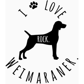 手描き風フォントがかわいい愛犬のお名前入りステッカー☆『ワイマラナー』☆ カーステッカー ☆ ペット ☆ ステッカー ☆ 名入れ 8