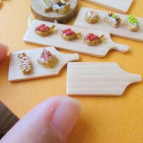 Hedgehog Bakery★白木のカッティングボード★ショート