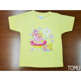 【SpacePeople】ライトイエローTシャツ
