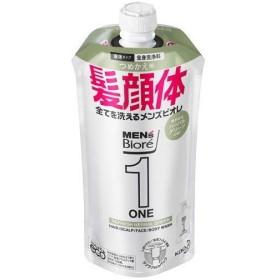 花王 メンズビオレ オールインワン全身洗浄料 Hグリーン詰替 340ml ボディケア・フレグランス