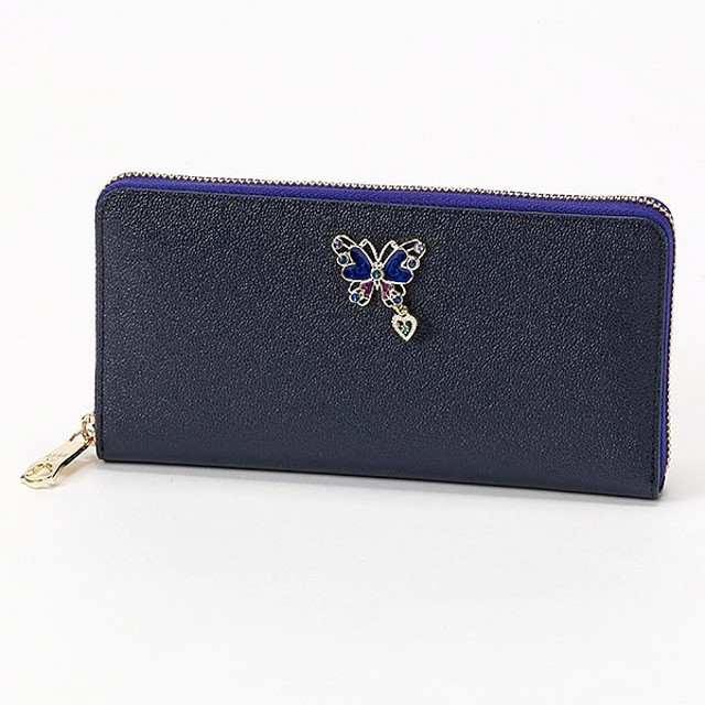 98345210f7d7 [マルイ] グラマラス ラウンドファスナー長財布(カード入れ22ヶ所でとっても便利
