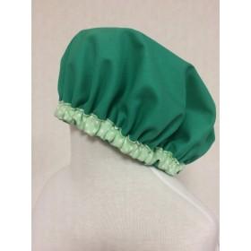 給食帽子 グリーン