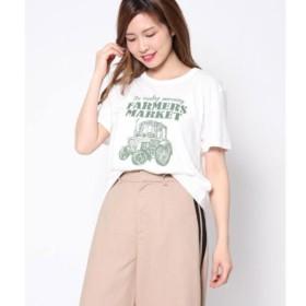 [マルイ]【セール】CARプリントTシャツ/ファクターイコール(Factor=)