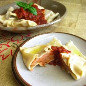 ギフトにも嬉しい自然食品 ️簡単調理で身体に優しい♪無添加手作りパスタ<トマトのトルテッリ>