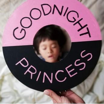 GOODNIGHT PRINCESS 寝顔フォトプロップス