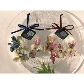 【選べる2色】千日紅と紫陽花のサシェ