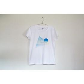 [受注制作] △Tシャツ「青い、空」