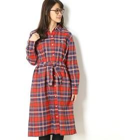 [マルイ]【セール】【18AW】TARTAN SHIRT DRESS/フレッドペリー(レディス)(FRED PERRY)