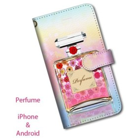 iPhone専用ケース/Perfume bottle/Flower