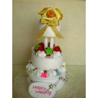 いちごとお花のウェディングケーキS_183