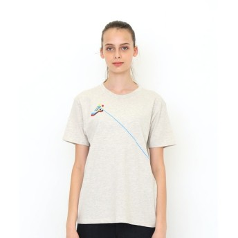 [マルイ] 【ユニセックス】コラボレーションTシャツ/シューレースクライミングロープ(ヤマップ)/グラニフ(graniph)