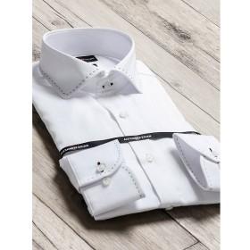 [マルイ]【セール】形態安定80双スリムフィットラウンドカラー長袖ビジネスドレスシャツ/タカキュー(TAKA-Q)