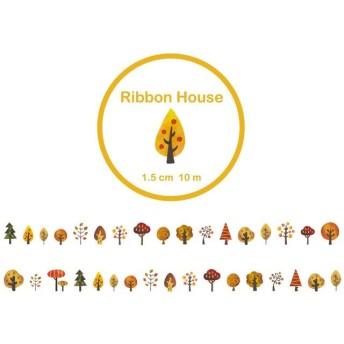 ♪ 一周年感謝企画♪ 木のマスキングテープ(秋)