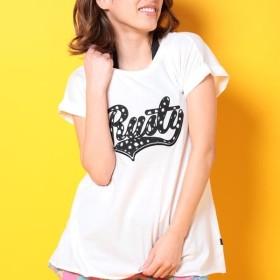 [マルイ] RUSTY レディースPOPブランドロゴUVTシャツ/ラスティ(水着)(RUSTY)