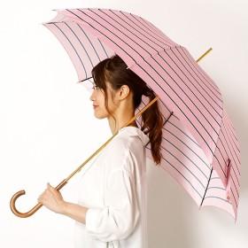 [マルイ]【セール】長傘(手開きタイプ)Pツイルボーダープリント(レディース/婦人)/ポロ ラルフローレン(傘)POLO RALPH LAUREN(umbrella)