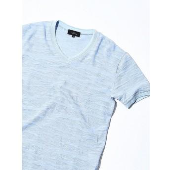 [マルイ]【セール】【Recency of Mine】ランダムカモジャカードボーダーVネックTシャツ/アバハウス(ABAHOUSE)