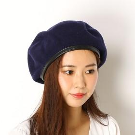ウール混 ベレー帽 8018501602