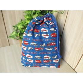 巾着袋(24cm×18cm)*給食袋*入園入学/通園通学【81-A】