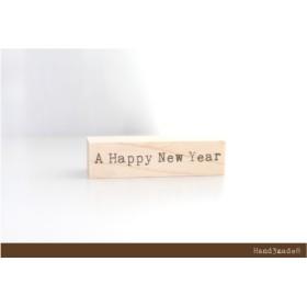H3m8 A Happy New Year [タイプライター]