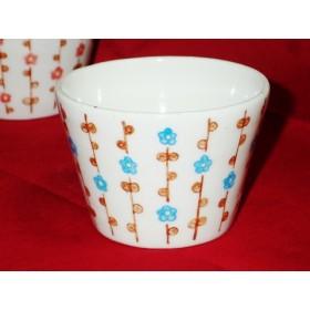 mini ふりーカップ(梅 blue)
