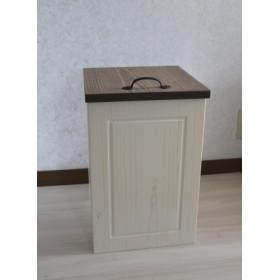 ツートンなダストボックス(ゴミ箱)