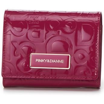 [マルイ]【セール】エナメルエンボス 二つ折り財布/ピンキー&ダイアン(バッグ&ウォレット)(Pinky&Dianne)