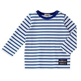 [マルイ]【セール】ボーダーシンプルTシャツ(デイリーシリーズ)/ミキハウス ホットビスケッツ(MIKIHOUSE HOT BISCUITS)