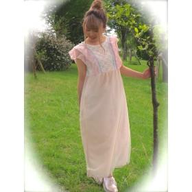 [sale]シャーベットカラーのワンピースドレス