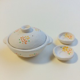 【 お正月セール】ミニチュア 土鍋セット