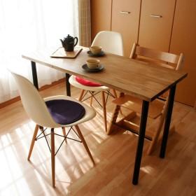 ヴィンテージカラーの作業テーブル:幅79cm×奥行50cm×高さ73cm【ワークテーブル】【カウンターテーブル】【男前インテリア】