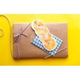メッセージカード/ツイストドーナツ