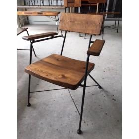 アイアン チェアー 鉄脚 椅子