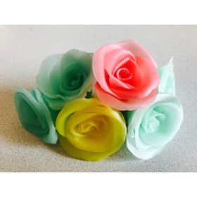 colorful flower candle☆(s)
