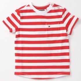 [マルイ]【セール】ストライプレギュラーフィットTシャツ/トミーヒルフィガー(キッズ)(TOMMY)