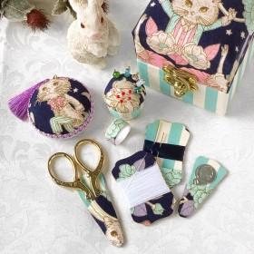プチ コフレドクチュール -お裁縫の小箱- 裁縫箱 ソーイングセット ジョリーフルール