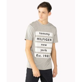[マルイ]【セール】ブロック テキスト ロゴ Tシャツ/トミーヒルフィガー(メンズ)(TOMMY)
