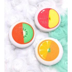 フレッシュフルーツのくるみボタン♪