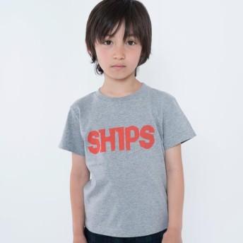 [マルイ]【セール】SHIPS KIDS:ロゴ TEE(100-130cm)/シップス キッズ(SHIPS KIDS)
