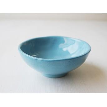 トルコブルーの小さめ茶碗(73TB-2)