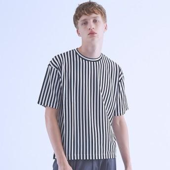 [マルイ]【セール】ストライプオーバーサイズTシャツ/アバハウス(ABAHOUSE)