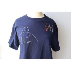 Venus t-shirt 【blue】