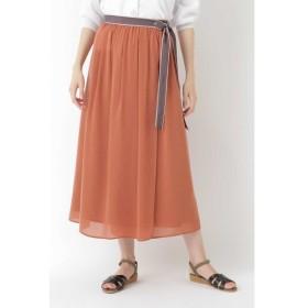 HUMAN WOMAN / 楊柳ラップロングスカート