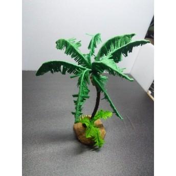 ジオラマ用のヤシの木、モスグリーン