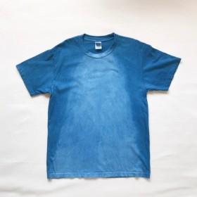 藍染-T waterfall メンズMサイズ