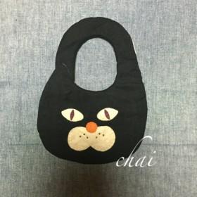 ★黒ネコさんスタイ カラフルボーダー★