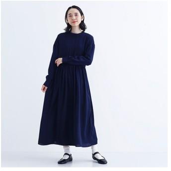 [マルイ]【セール】ヴィンテージサテンバッグオープンロングワンピース/メルロー(merlot)