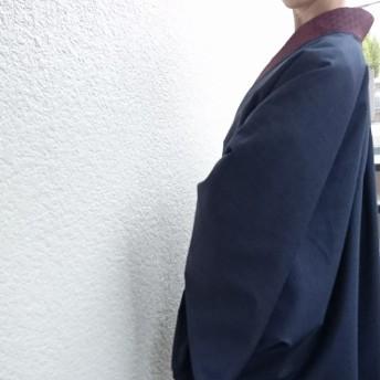 粋☆きものジャケット・英国製ウール
