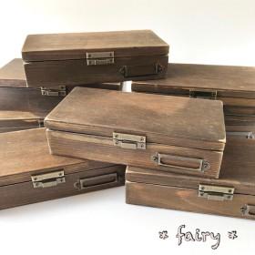 木製金庫♪イベントやフリマ、日頃の金銭管理に♪木箱の金庫