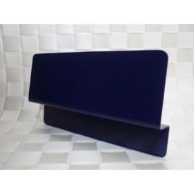 小さなベッドガード ネイビー/スチール製 単品 ◇マットレスずれ防止用品◇