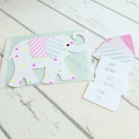 ゾウさんカード